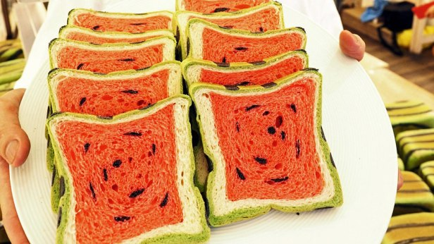 watermelon toast